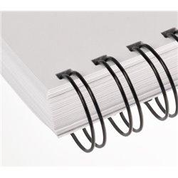 Libro A4 en blanco y negro encuadernado en wire