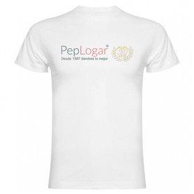 Camiseta blanca de poliéster personalizada