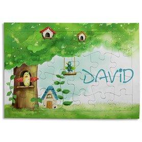 Puzzle personalizable 24 piezas con marco 28,5 x 20 cm