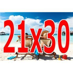 21X30, impresión en papel photo de fotografías